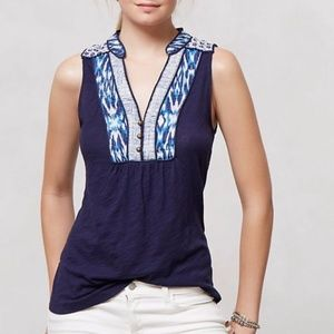 Anthropologie Akemi & Kim Sleeveless Top